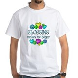 Clogging Happiness Shirt