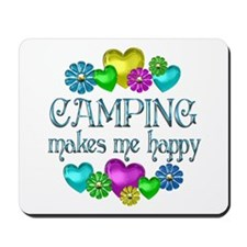 Camping Happiness Mousepad
