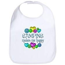 Camping Happiness Bib