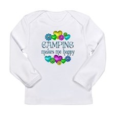 Camping Happiness Long Sleeve Infant T-Shirt