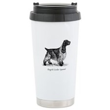 English Cocker Spaniel Ceramic Travel Mug