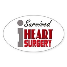 Heart Surgery Survivor Decal