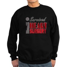 Heart Surgery Survivor Sweatshirt