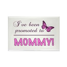 Promoted To Mommy Rectangle Magnet