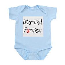 Martial Fartist Infant Bodysuit