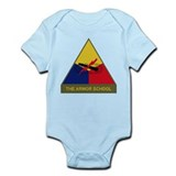 The Armor School Infant Bodysuit