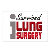 Lung Surgery Survivor Postcards (Package of 8)