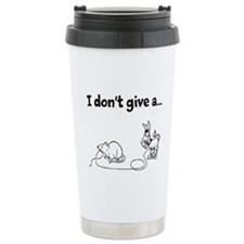 I Don't Give a Rat's... Ceramic Travel Mug