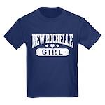 New Rochelle Girl Kids Dark T-Shirt