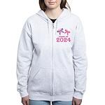 2024 Girls Graduation Women's Zip Hoodie