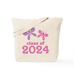 2024 Girls Graduation Tote Bag