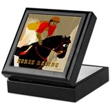 Horse Racing Acres Keepsake Box