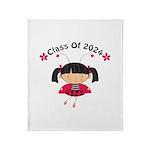 2024 Class Gift Throw Blanket