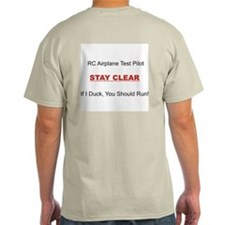 RC Airplane Test Pilot T-Shirt