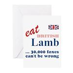 Slam in the Lamb Greeting Cards (Pk of 10)