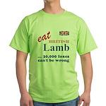 Slam in the Lamb Green T-Shirt