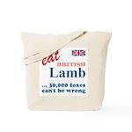 Slam in the Lamb Tote Bag