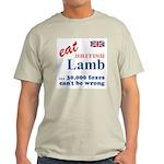 Slam in the Lamb Ash Grey T-Shirt
