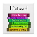 Retired Professionals Tile Coaster
