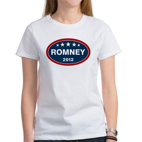 Romney 2012 [blue] Women's T-Shirt