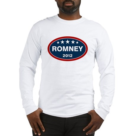 Romney 2012 [blue] Long Sleeve T-Shirt