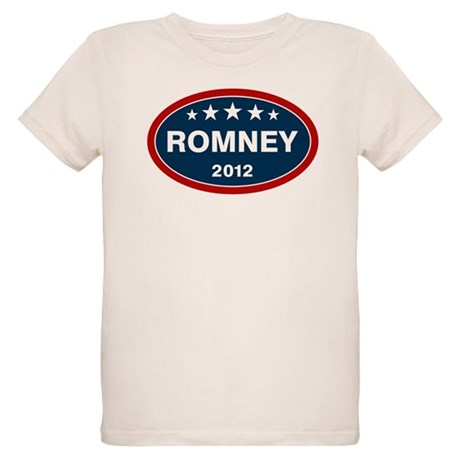 Romney 2012 [blue] Organic Kids T-Shirt