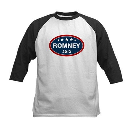 Romney 2012 [blue] Kids Baseball Jersey