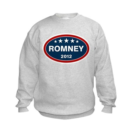 Romney 2012 [blue] Kids Sweatshirt