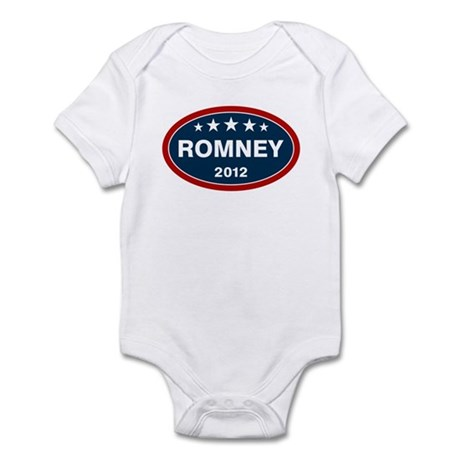 Romney 2012 [blue] Infant Bodysuit