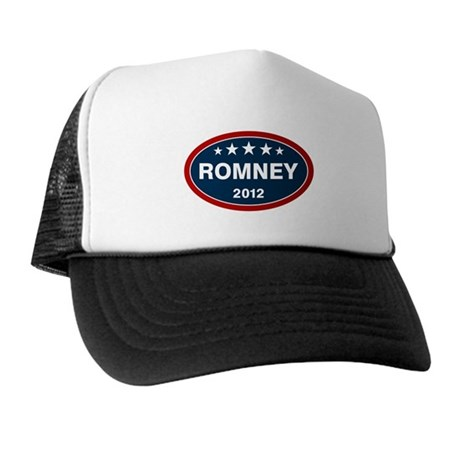 Romney 2012 [blue] Trucker Hat