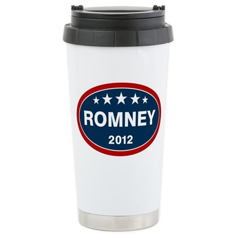 Romney 2012 [blue] Ceramic Travel Mug