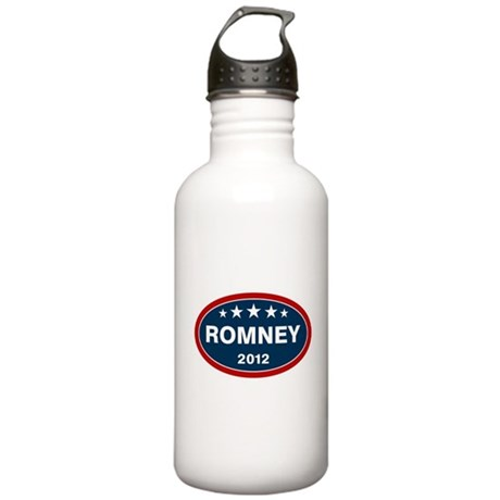 Romney 2012 [blue] Stainless Water Bottle 1.0L