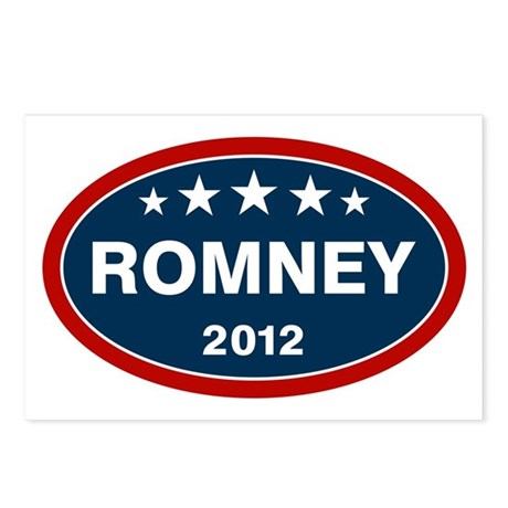 Romney 2012 [blue] Postcards (Package of 8)
