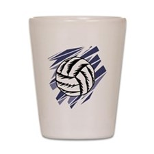 Funny Volleyball net Shot Glass
