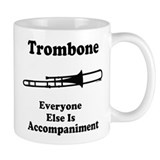 Trombone Gift Music Joke Small Mug