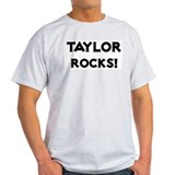 Taylor Rocks! Ash Grey T-Shirt