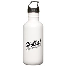 Holla! City of Squalor Water Bottle