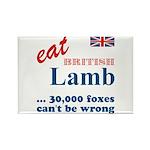 Slam in the Lamb Rectangle Magnet