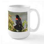Redwing Perching Large Mug