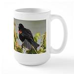 Redwing Singing Large Mug