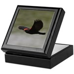 Redwing Over the River Keepsake Box
