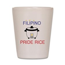 Unique Filipina Shot Glass