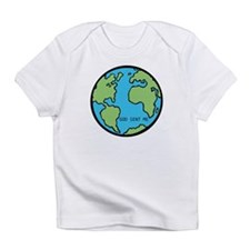 """Earth Angel"" Infant T-Shirt (F/B print)"