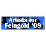 Artists for Russ Feingold 2008 Sticker