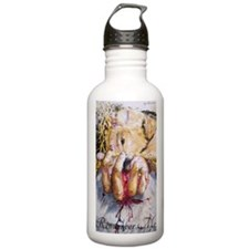 Crucifixion Scene Water Bottle
