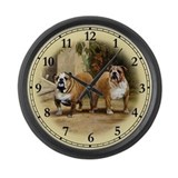 Bulldog Large Wall Clock