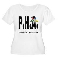 PHA-w-star2-plussize Plus Size T-Shirt