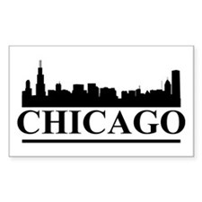 Chicago Skyline Decal