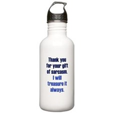 Gift of Sarcasm Sports Water Bottle