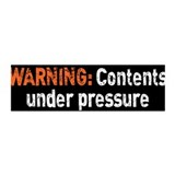 Contents Under Pressure Wall Decal